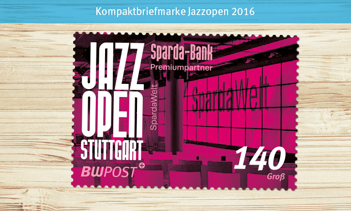 Briefmarken-Motive helles-Holz JAZZ 140er